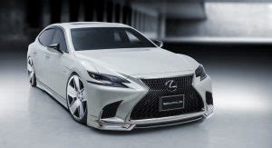 wald japanese things: lexus lc 500 coupe and ls 500h sedan