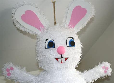 Handmade Pinatas - easter bunny pinata birthday handmade by