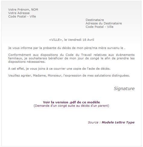 exemple de lettre de demande d emploi simple covering