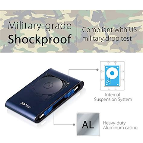 silicon power rugged armor a80 review us silicon power 2tb rugged armor a80 iec 529 ipx7 shockproof waterproof 2 5 inch usb 3 0