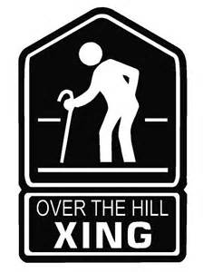 over the hill crossing decal dec horse xing 15 00