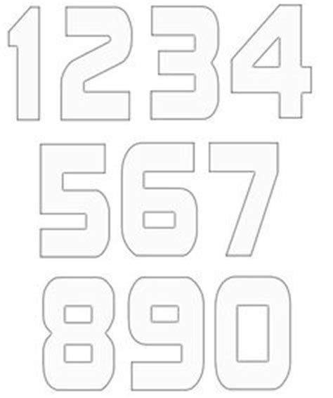 printable baseball numbers 1000 images about t ball on pinterest baseball banner