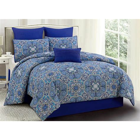 u s polo assn st tropez bedding set queen 7 piece