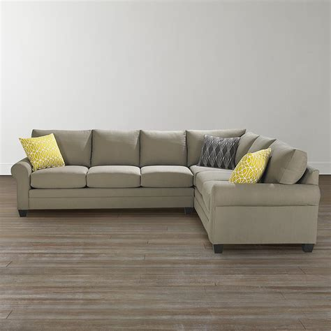 Bassett Bedroom Furniture L Shaped Sectional Sofa