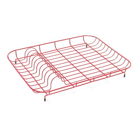 Wire Plate Rack by Addis Wire Dish Drainer Plate Rack Low Level Enamel Coated
