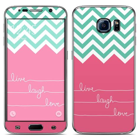 live themes galaxy s6 samsung galaxy s6 skin live laugh love by brooke boothe