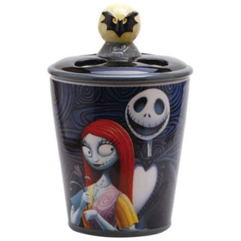 nightmare before christmas bathroom decor jack skellington and sally toothbrush holder from our