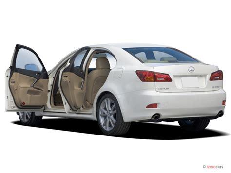 2006 lexus is 250 4 door sport sedan auto open doors