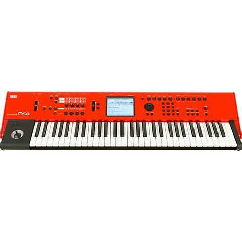 Keyboard Korg M50 Korg M50 61 Key Workstation Limited Edition Music123
