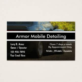 car detailing business card template auto detailing business cards templates zazzle
