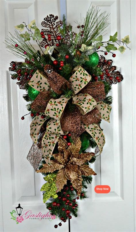 christmas swags for doors 761 best swags garlands images on crafts