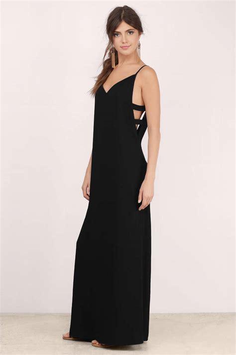 black maxi dress black dress cut out dress 11 00