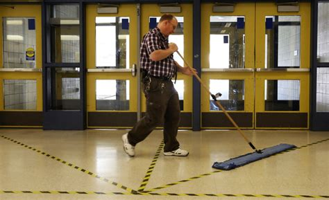 national janitor of the year honor may await local school custodian the seattle times