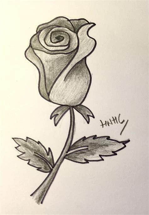 imagenes de flores sombreadas c 243 mo dibujar una rosa abierta y cerrada 161 hoy no hay cole