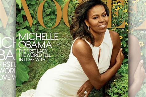 michelle obama vogue cover michelle obama stuns on vogue cover and says she defined