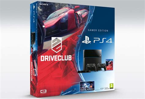 Sony Ps4 Driveclub Reg 1 Us driveclub white ps4 bundle revealed videogamer