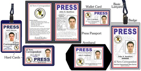 international press card template ains press credentials special renewal order form