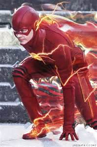 grant gustin the flash by jhonatacosmo on deviantart