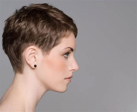 Side And Front View Short Pixie Haircuts | photos of pixie cuts front and back view