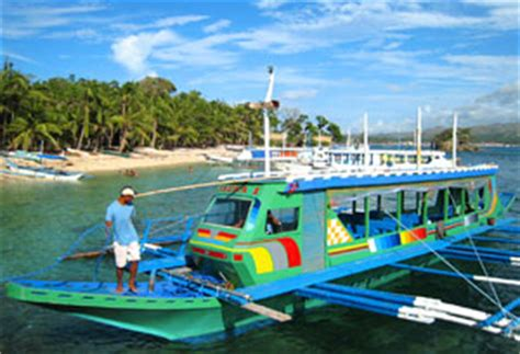 pump boat design philippines cagban beach jetty port boracay packages