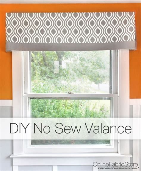 sewing a valance curtain 25 best ideas about no sew valance on pinterest kitchen