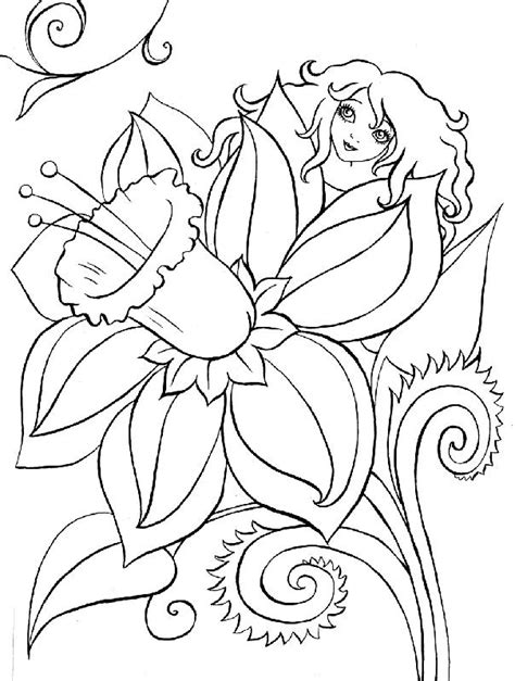 fiori disegnati da bambini disegni da colorare tema fiori settemuse it