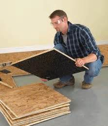 basement subfloor systems 25 best ideas about basement flooring on