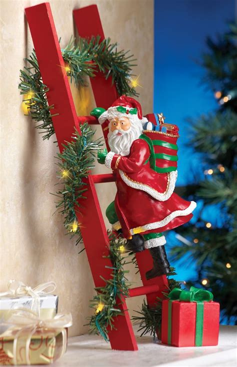 yard santa claus eraper around a tree on skis 44 best images about decor on trees outdoor and