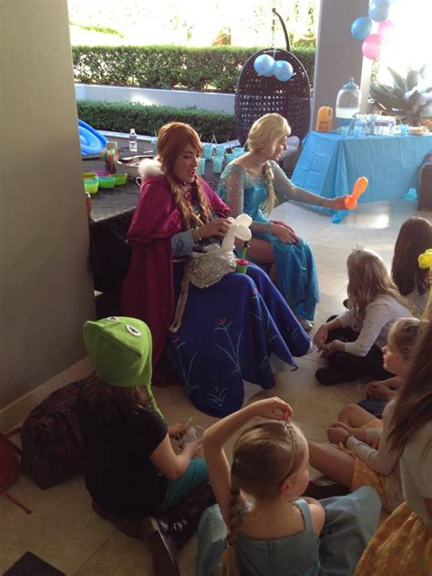 frozen themed party entertainment olivia s disney frozen birthday party kids party space