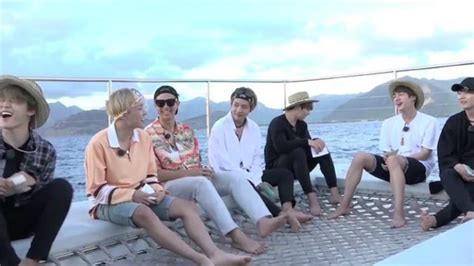 bts reality show bts say bon voyage to their vacation reality show sbs