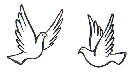 imagenes de palomas blancas grandes dibujos para colorear palomas