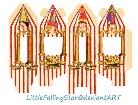bertie botts every flavour beans by littlefallingstar on