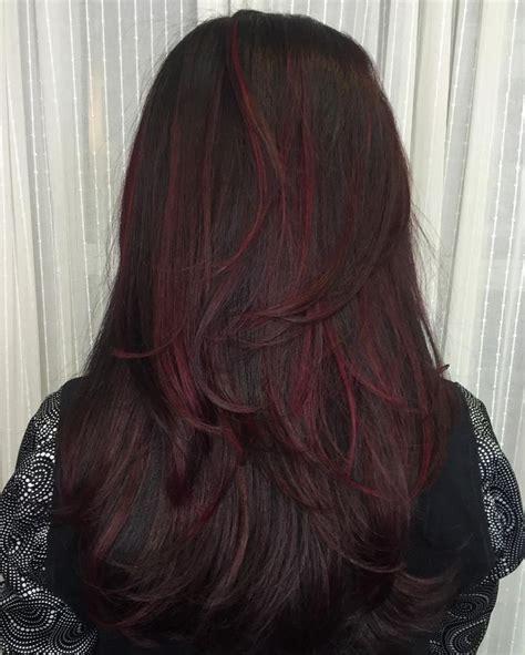 hair color on pinterest 65 pins 50 striking dark red hair color ideas bright yet elegant