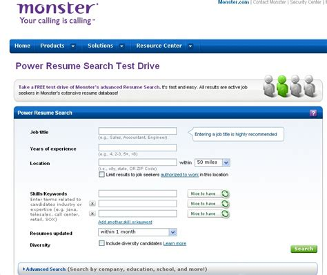 Best Resume Database For Recruiters by Careerbuilder Resume Database Career Builder Resume Search