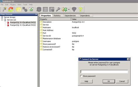 windows reset postgres password unable to reset password for postgres user in postgresql 8