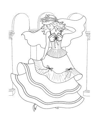 coloring pages of princess dresses the wedding dresses princess coloring sheet to print