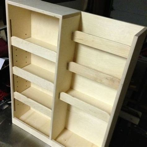 Pull Out Spice Rack by Handmade Pull Out Spice Rack By Noble Brothers Custom