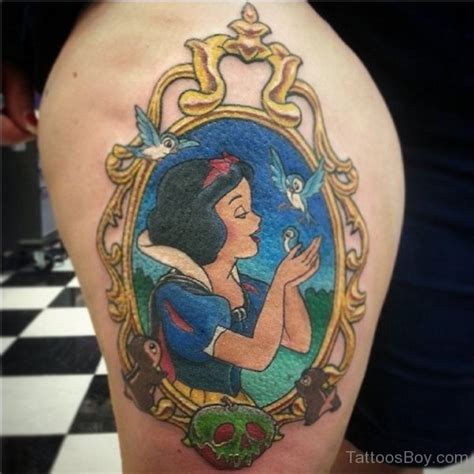 tattooed snow white tattoos designs pictures page 22