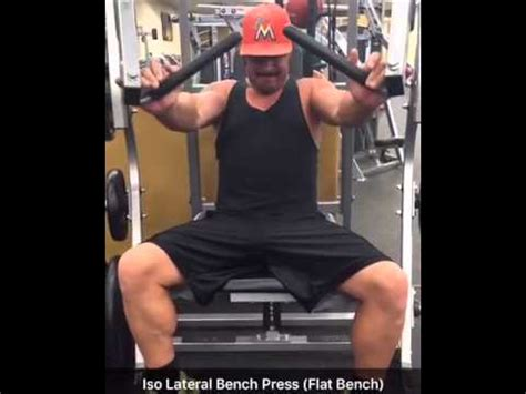 alternative exercise to bench press iso lateral bench press flat bench press alternative