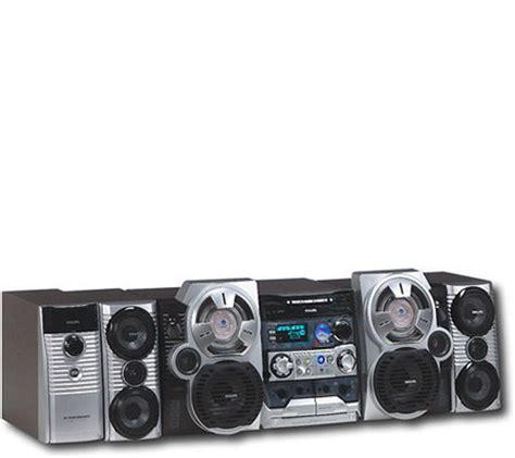 Lu Sorot Philips 500 Watt philips fwc798 500 watt mini hi fi system w 3 cd changer w00x qvc