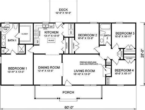 four bedroom house plans or by perfect simple floor plans a simple 4 bedroom house plan room image and wallper 2017