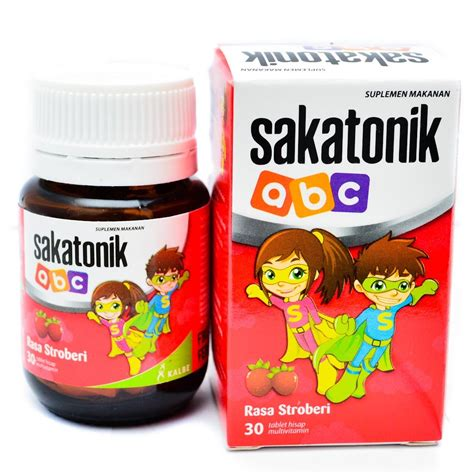 Vitamin Sakatonik Abc jual sakatonik abc rasa strawberry apotik jafa