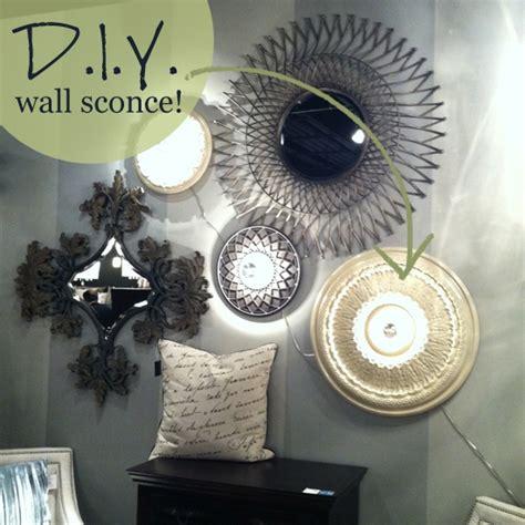Diy Wall Sconce Light Diy Wall Lighting Idea Home Decorating Community Ls Plus