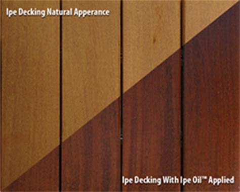 ipe oil finish ipe oil stains finish  sealer