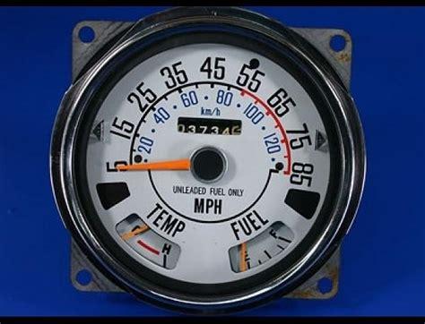 Jeep Cj5 Speedometer 1976 1979 Jeep Cj5 Cj7 85 Mph Dash Cluster White