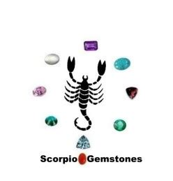 scorpio birthstone color scorpio gemstones
