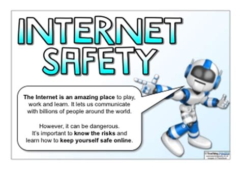 the internet safety pack | teaching ideas