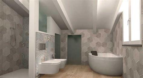 come piastrellare un bagno progetto bagno in mansarda with un bagno