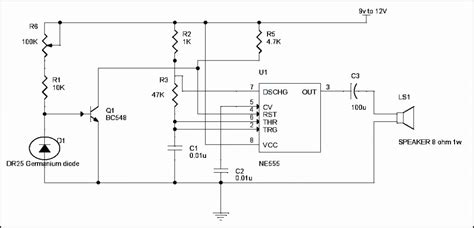 simple diode circuits simple alarm circuits using germanium diode and lm341 at low cost