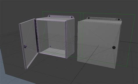 Panel Box electrical steel panel box ethereal 3d store